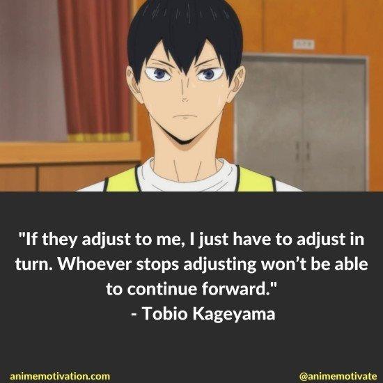Tobio Kageyama quotes