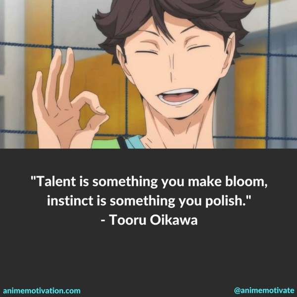 Tooru Oikawa Quotes 1