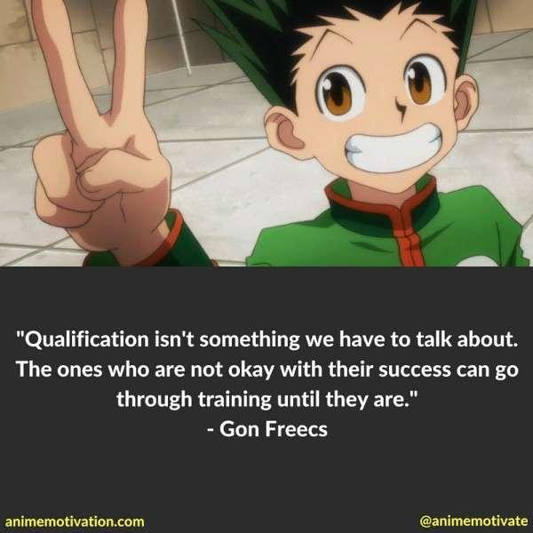 Gon Freecs Quotes 3