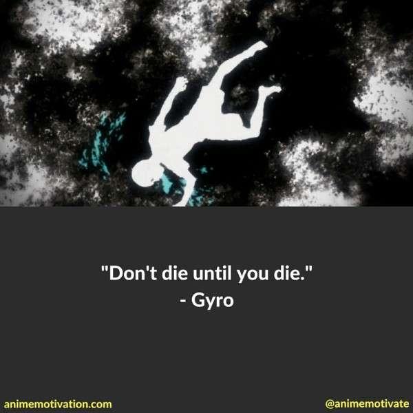 Gyro Quotes Hxh