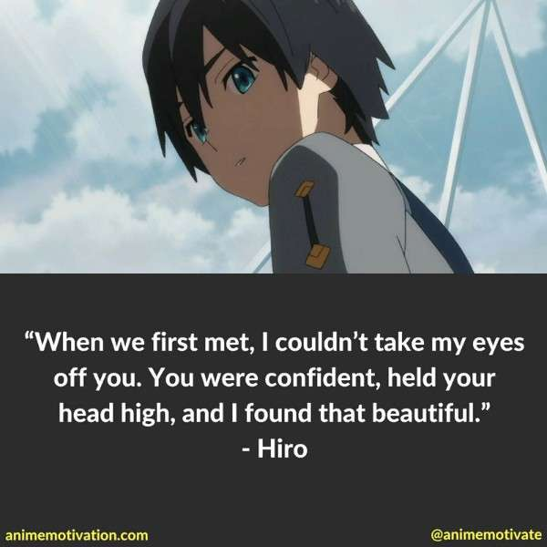 Quote image of Hiro from Darling In The Franxx