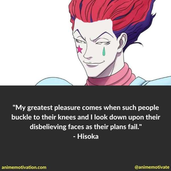 Hisoka Quotes 2