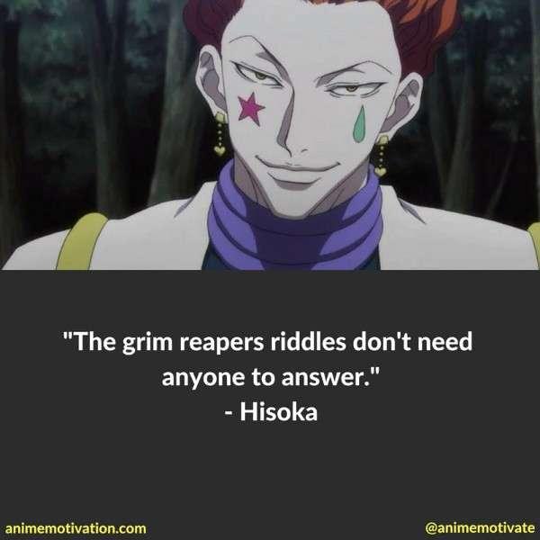 Hisoka Quotes 3
