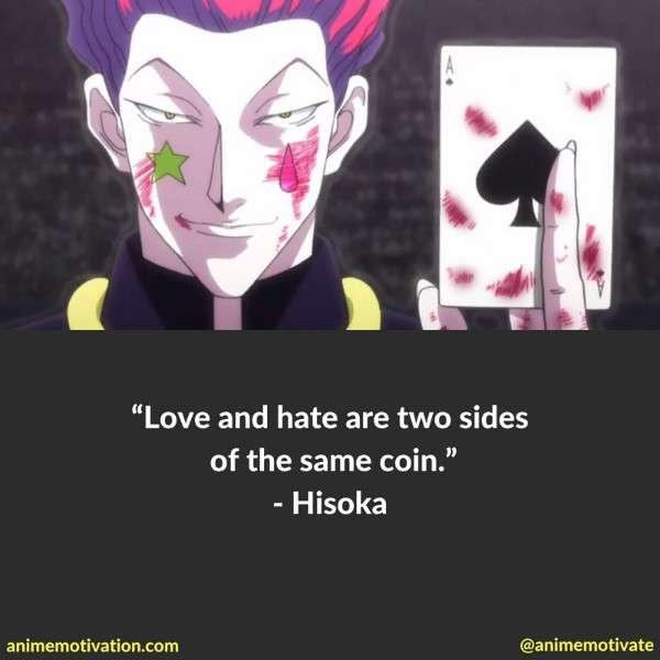 Hisoka Quotes 5