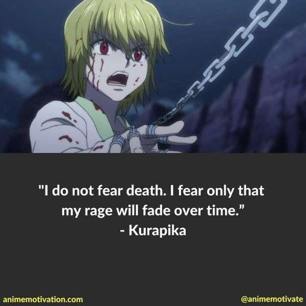 Kurapika Quotes 1