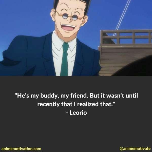 Leorio Paradinight Quotes 3
