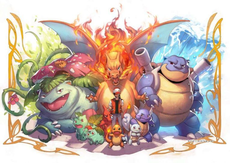 Pokemon Wallpaper Blastoise Charizard Venasaur