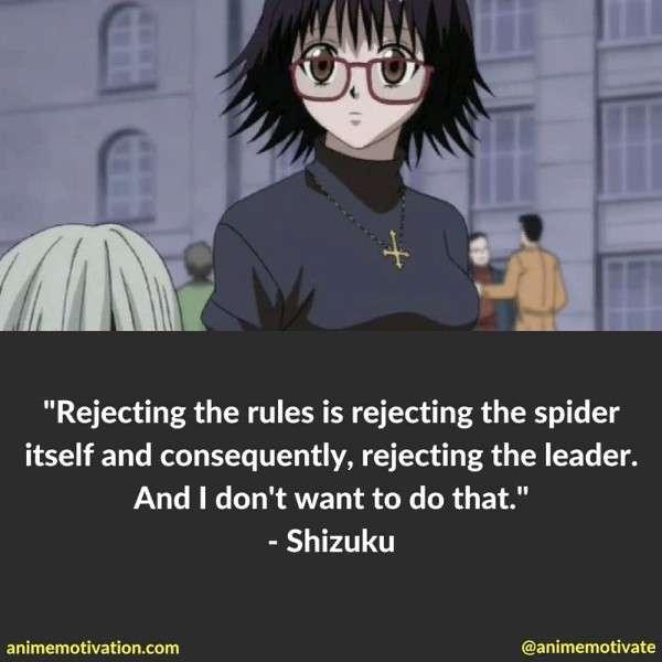 Shizuku Quotes Hxh