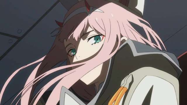 Zero Two Looking Down