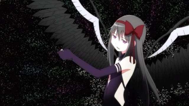 devil homura from madoka magica