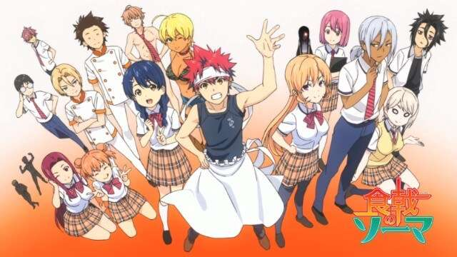Food Wars anime characters