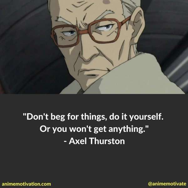 Axel Thurston Quotes