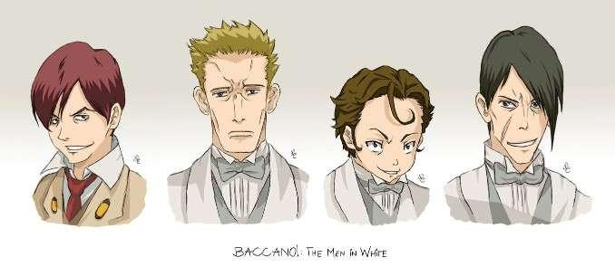 Baccano Anime Characters