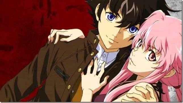 Future diary - Amano Yuki and Yuno Gasai