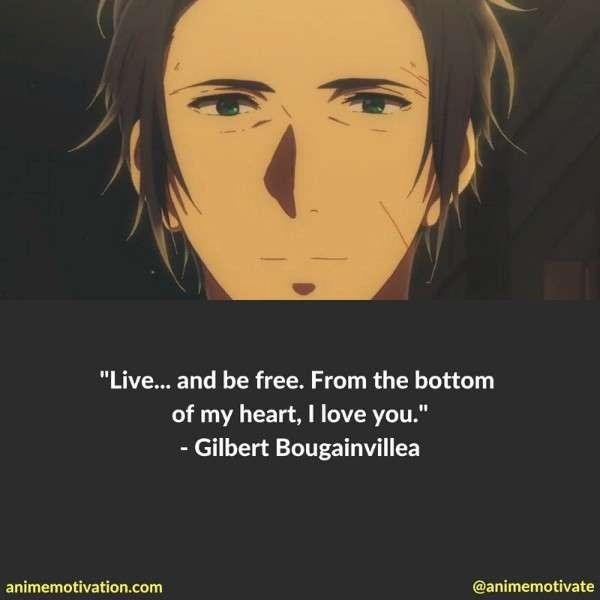 Gilbert Bougainvillea Quotes