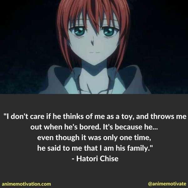 Hatori Chise Quotes 4