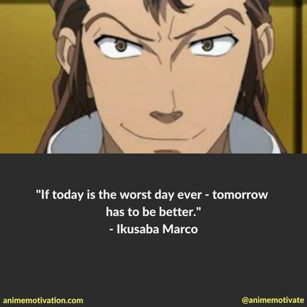 Ikusaba Marco Quotes 2
