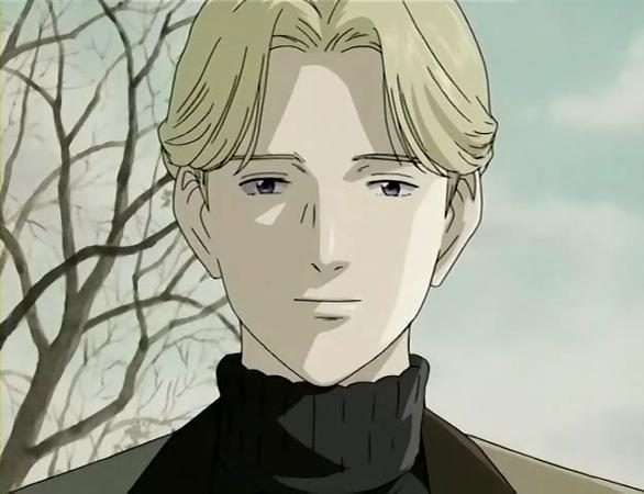 Johan Liebert With A Blank Facial Expression Monster