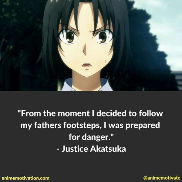 Justice Akatsuka Quotes 4