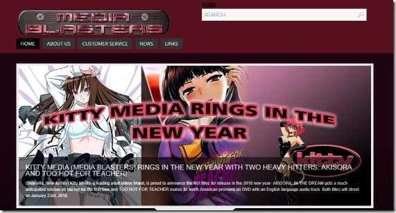 Media Blasters website