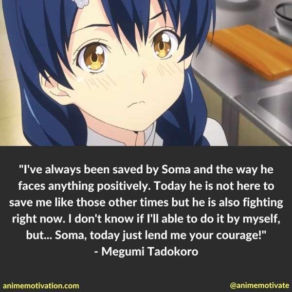 Megumi Tadokoro Quotes