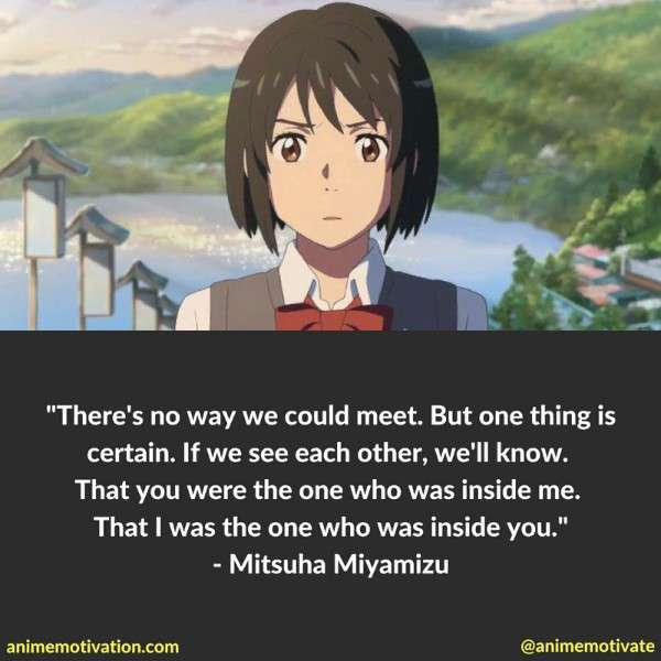 14 Of The Best Anime Quotes From The Movie Your Name