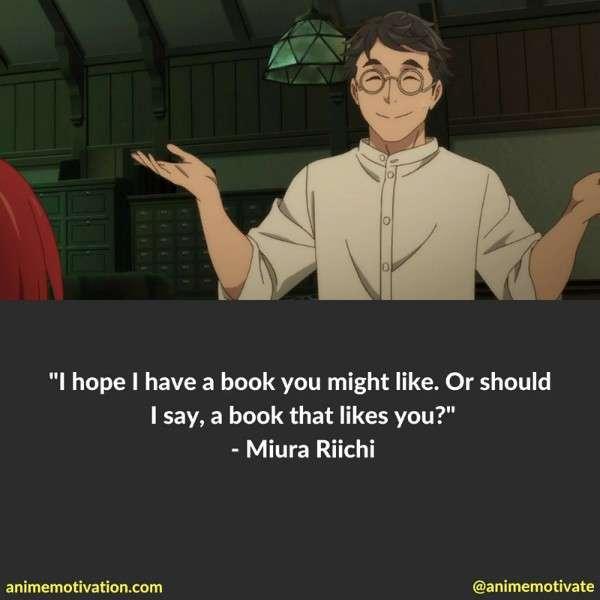 Miura Riichi Quotes