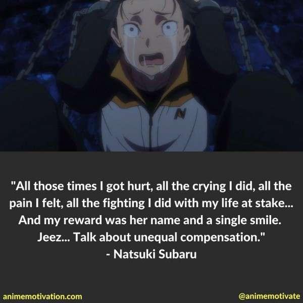 Natsuki Subaru Quotes 3
