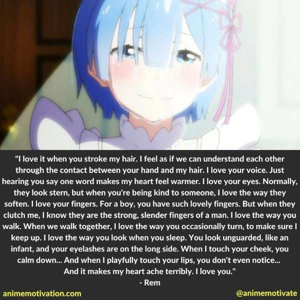 Rem Quotes Re Zero 7