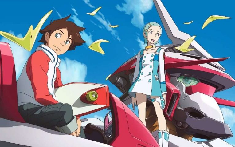 Renton Thirston And Eureka Together Eureka Seven 1