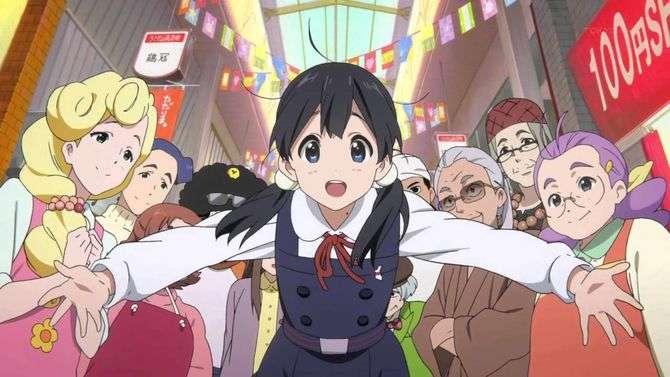 Tamako Market Characters