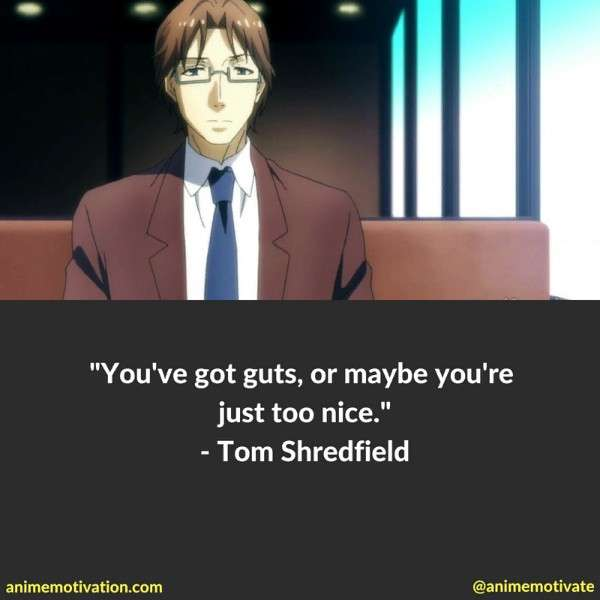 Tom Shredfield Quotes 1