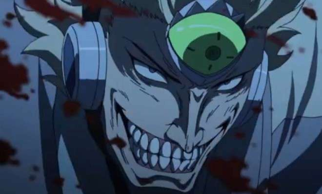 Zanku With A Big Smile On His Face Akame Ga Kill
