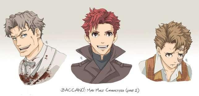 Baccano Characters