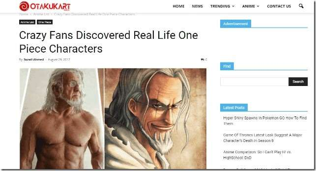 crazy fans discover real life one piece characters