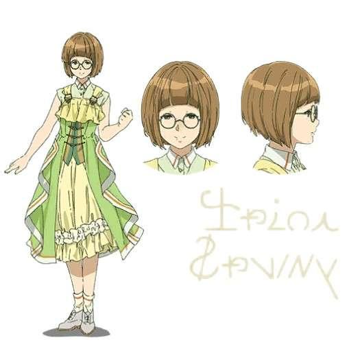Erika Violet Evergarden Character