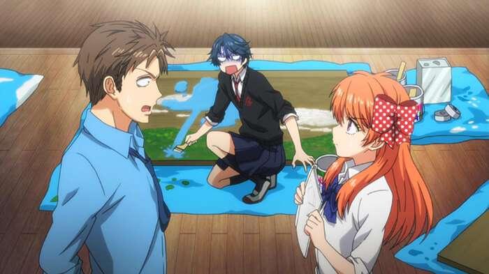 Anime public sex