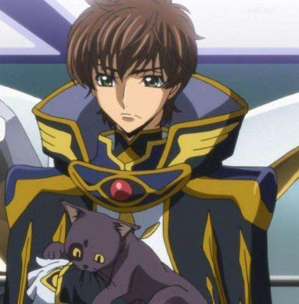 Suzaku Kururugi And His Cat