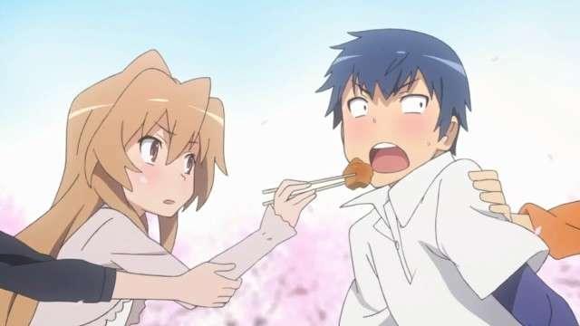 Toradora Ryuji And Taiga