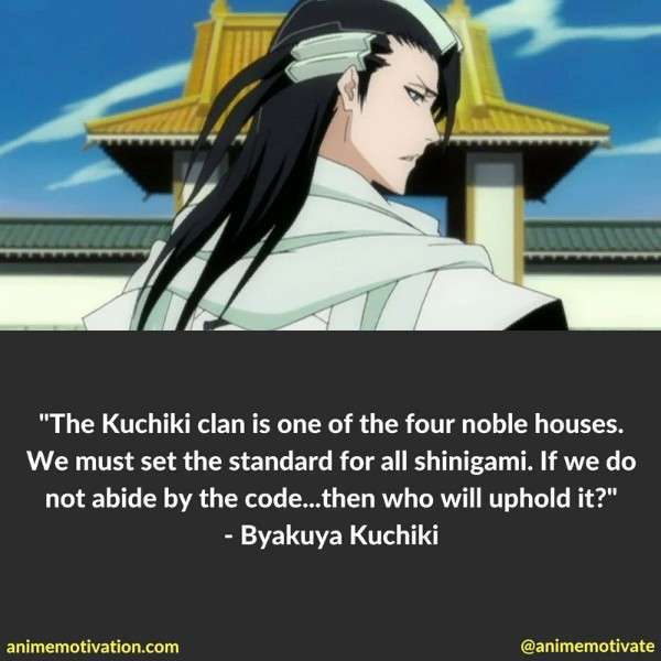 Byakuya Kuchiki Quotes 2