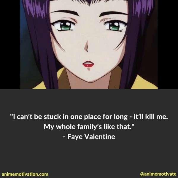 Faye Valentine Quotes 2