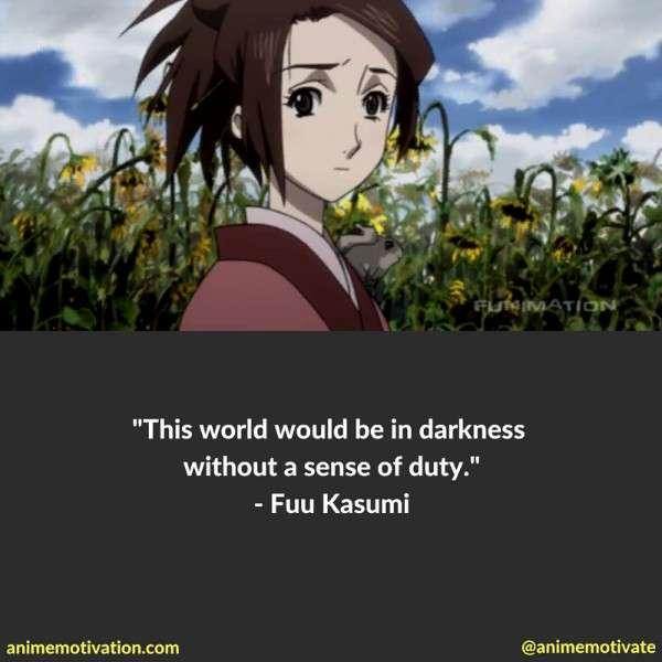 Fuu Kasumi Quotes 1
