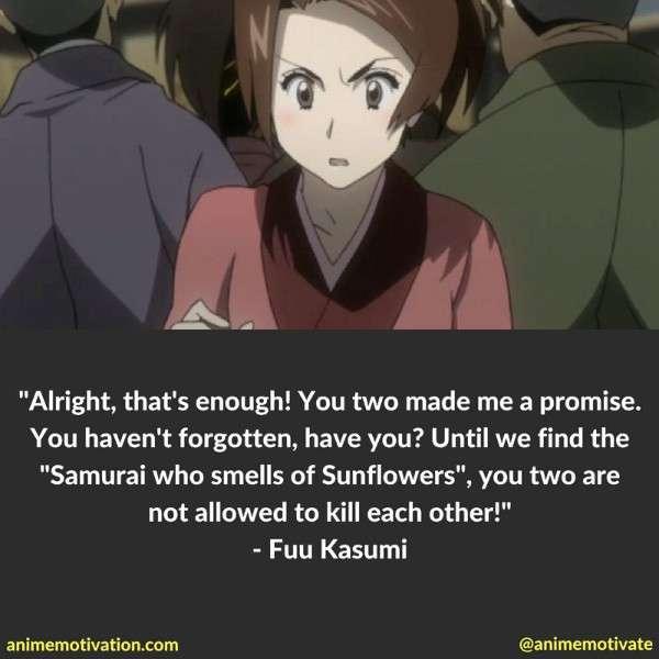 Fuu Kasumi Quotes 3