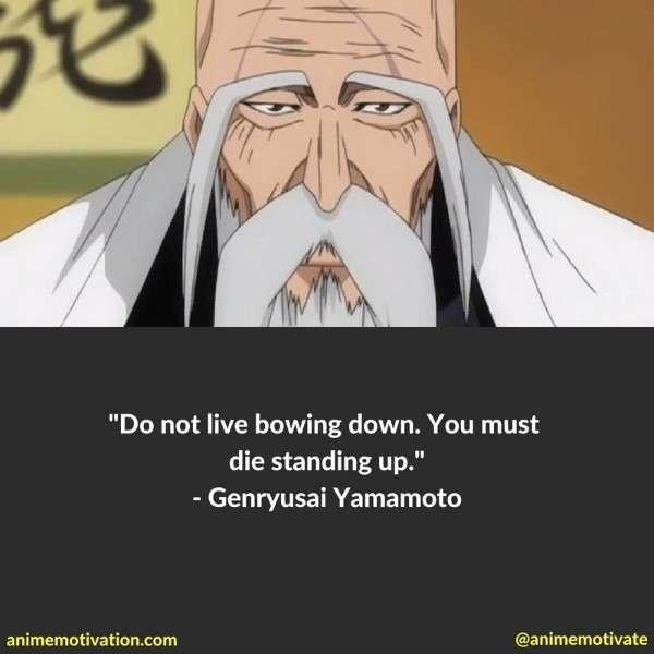 Genryusai Yamamoto Quotes