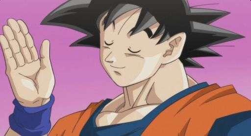 Goku Smug