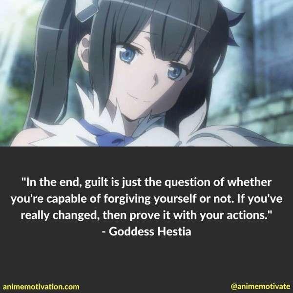 Hestia Danmachi Quotes