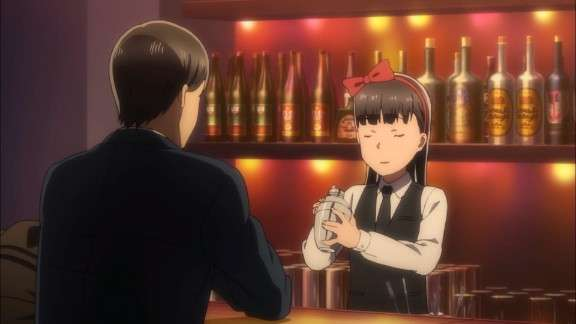 Hitomi Working In The Bar Hinamatsuri