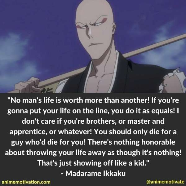 Ikkaku Quotes Bleach