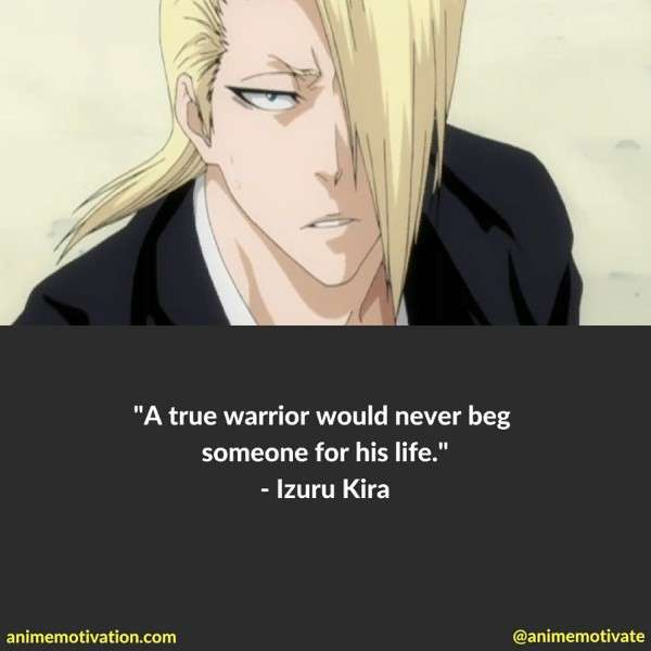 Izuru Quotes Bleach 1