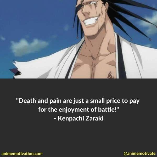Kenpachi Zaraki Quotes 1